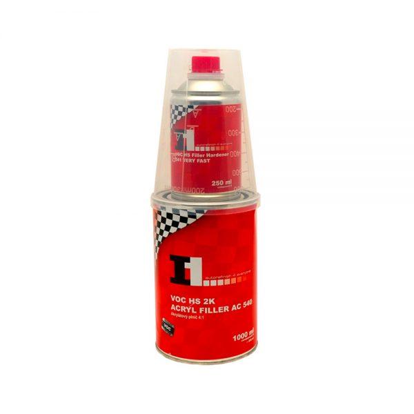 Plnič 2K acryl filler AC 540 4:1